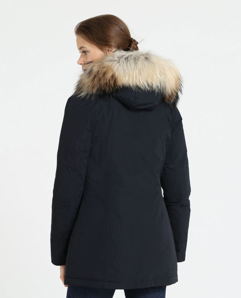 check out 6739d 4c35f WOOLRICH ARCTIC PARKA donna Blu (WWCPS1447CN02-DKN) W'S Arctic Parka Fr